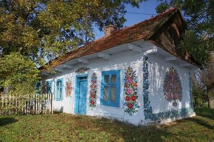 Расписная деревня Залипье