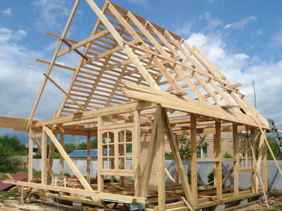 Построить каркасный дом цена