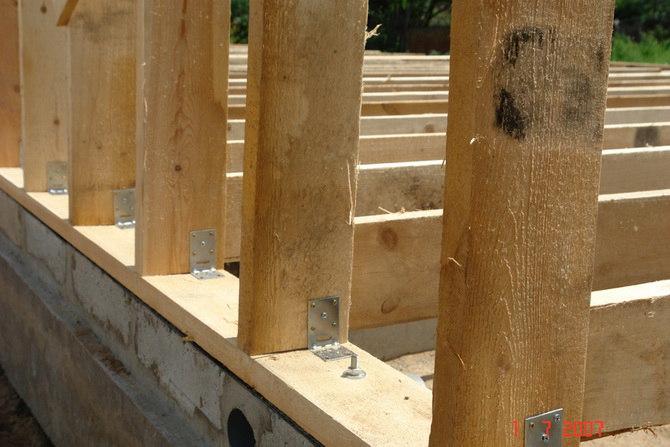Строительство каркасного дома своими рукам