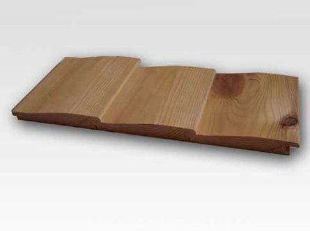 Обшивка дома сайдингом из древесины