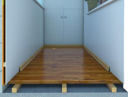 Как сделать качественный деревянный пол в лоджии?