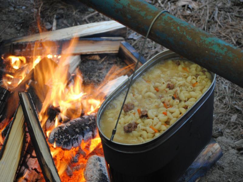 Блюда в походе на костре рецепты