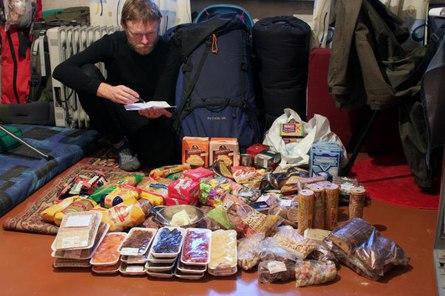 Какой набор продуктов взять с собой в поход?