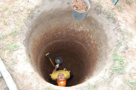 Как выкопать колодец своими руками в одиночку?