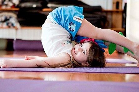 Йога для детей: комплексы упражнений
