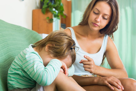 Прежде чем ругать ребёнка, спросите себя...