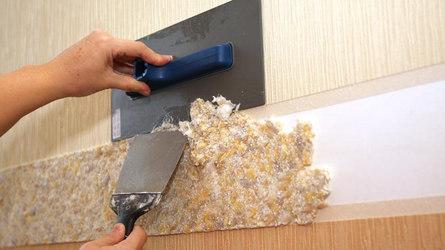 Как правильно клеить жидкие обои: подготовка стен, расход и отделка