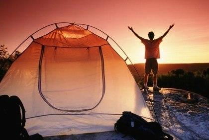 Жизнь в палатке восстанавливает биоритмы человека