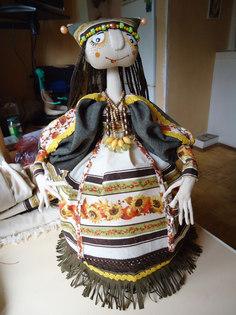 Изготовление куклы на чайник своими руками