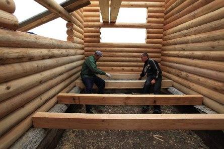 Устройство деревянных полов в деревянном срубе