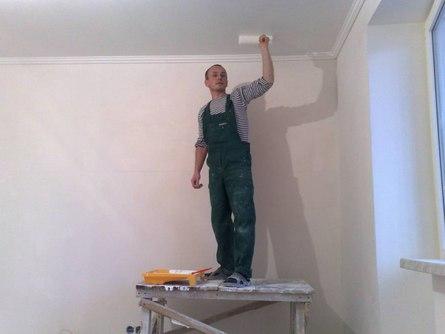 Подготовка потолка к покраске своими руками