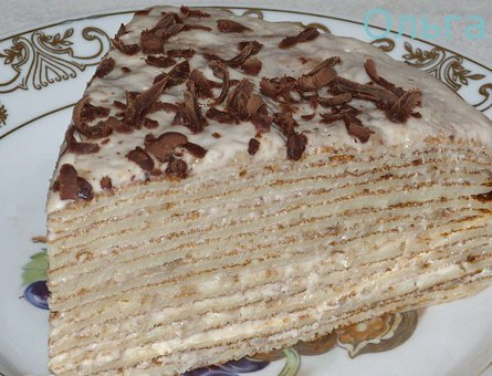 Блинный торт своими руками