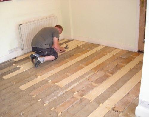 Как выровнять старый деревянный пол? Способы выравнивания пола из досок 20