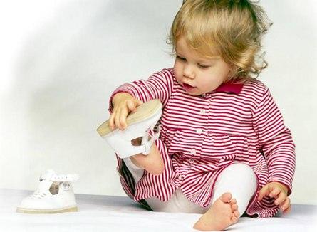 Обувь для малышей: первая покупка