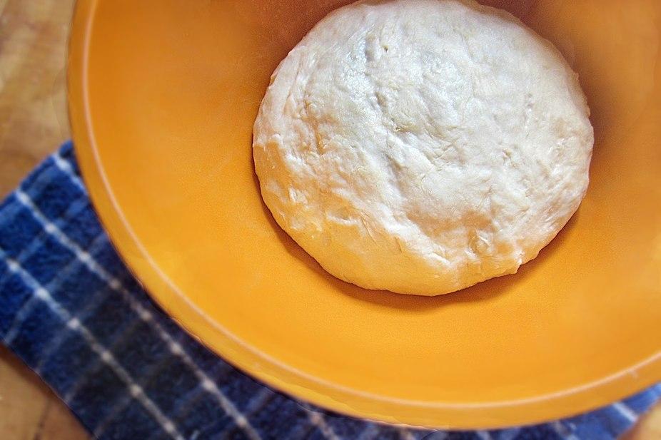 вкусное тесто без яиц