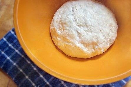 Рецепт теста на кефире без яиц