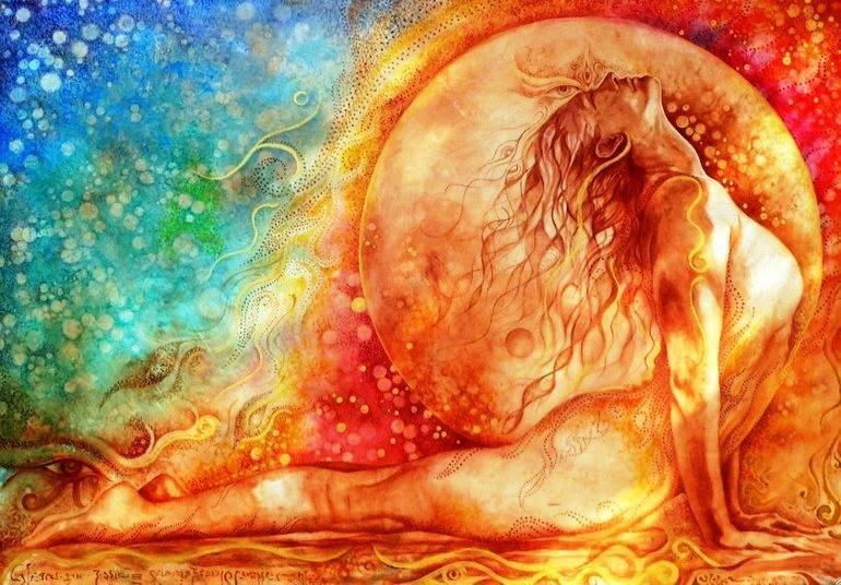 Медитация женское начало