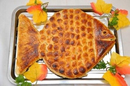 """Готовим пирог """"Золотая рыбка"""""""