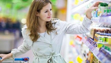 Вредные продукты из супермаркета