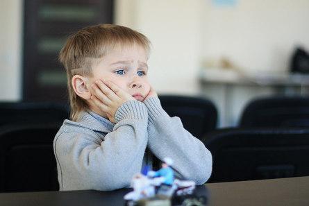 Когда ребёнку скучно