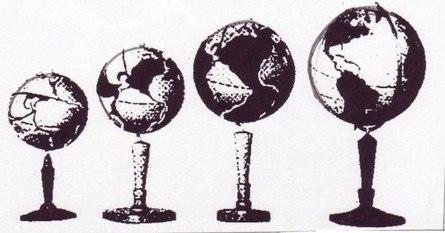 Как Земля под нами расширяется