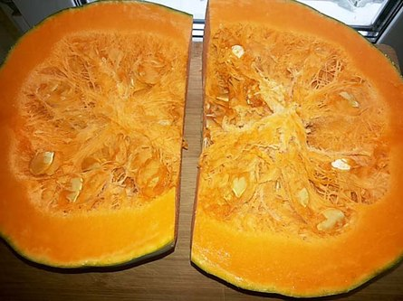 Нежный пирог из тыквы