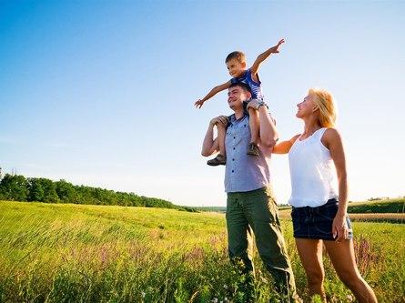 Жизнь с детьми: состояние открытости природе