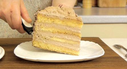Нежный и лёгкий торт