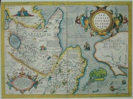 Великая Тартария на картах