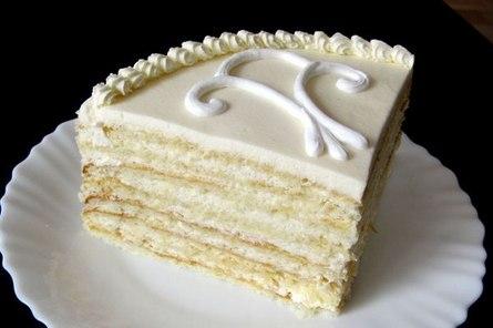 """Нежный и лёгкий торт """"Молочная девочка"""""""