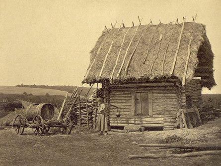 Крестьянская изба - выбор места для строительства. 1919 год.
