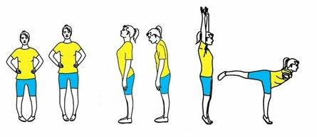 Гимнастика для профилактики варикоза